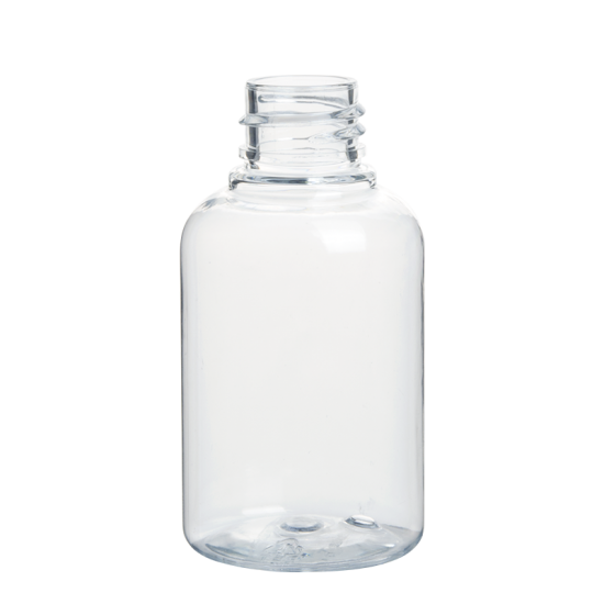 Plastic PET Boston Round Bottle