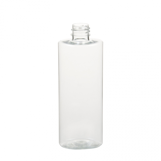 Plastic PET Oval Round Bottle