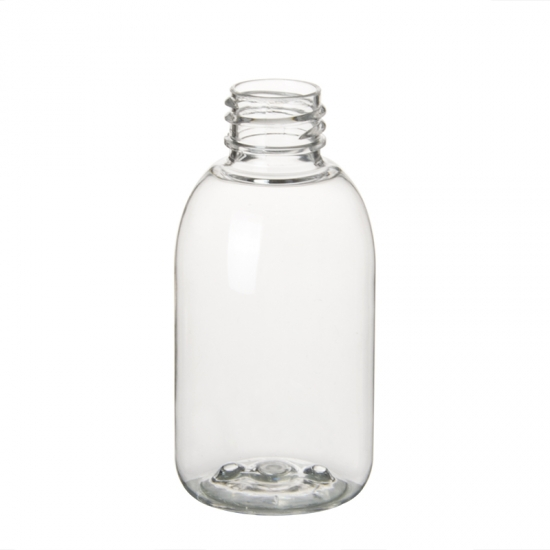 Plastic PET Boston Round Bottles