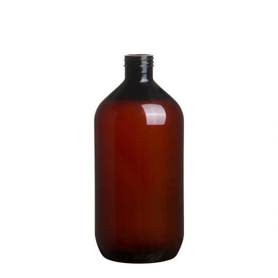 amber pet bottle