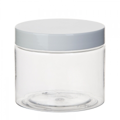 Plastic PET Straight Sided Jars