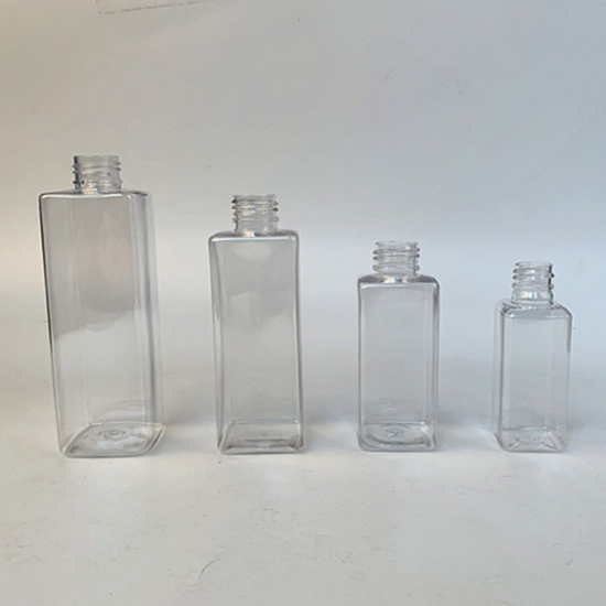 Square Bottles Rectangle Bottles