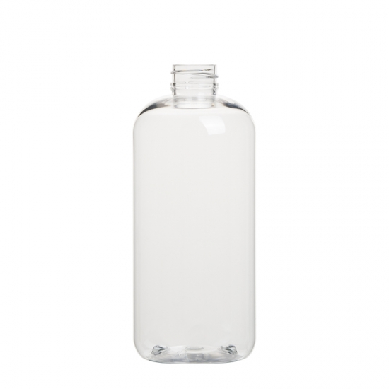 round cosmetic bottle