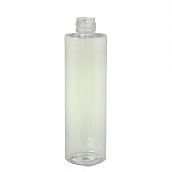 255ml clear cylinder skin toner bottles