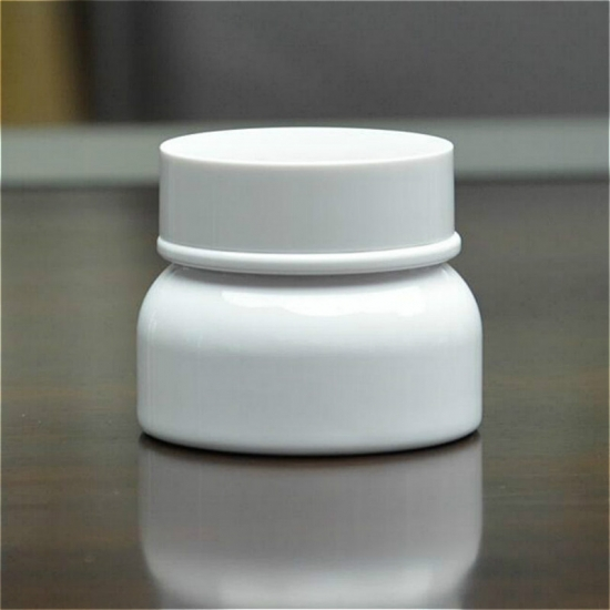 60g white thick wall jars cosmetic facial cream jars